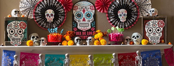 pARTY dELIGHTS dAY OF THE DEAD THEME