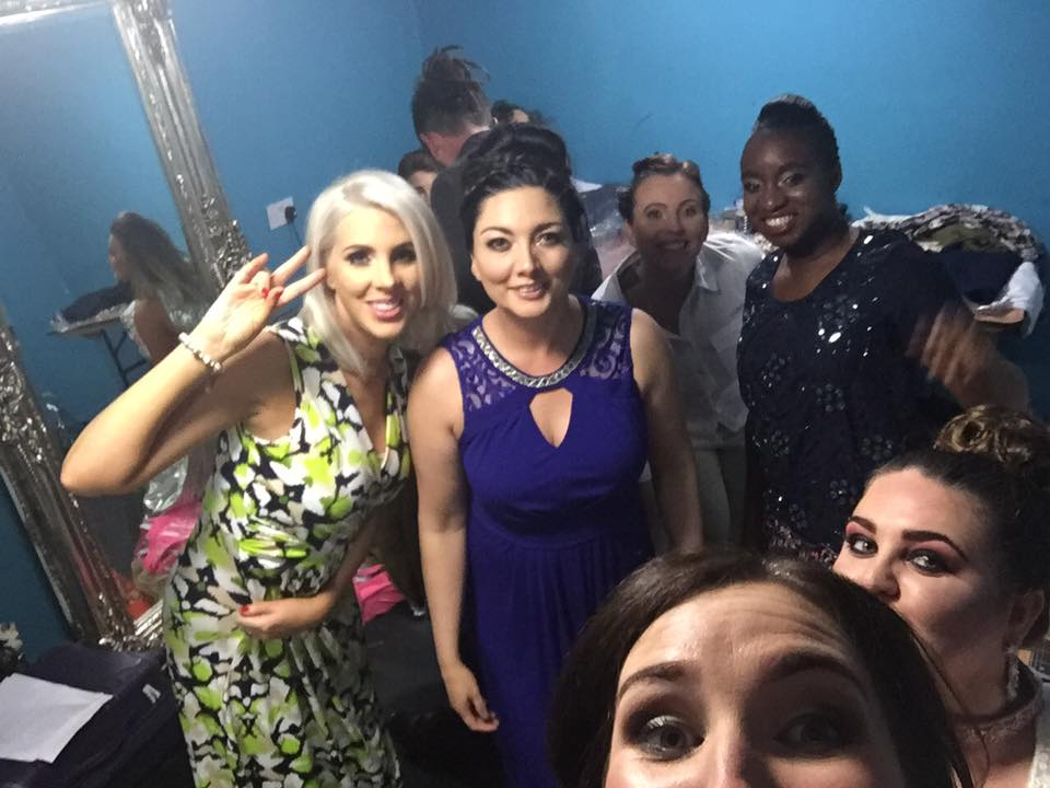Green Room Selfie