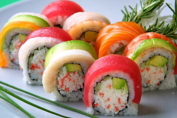 sushi-rainbow-roll