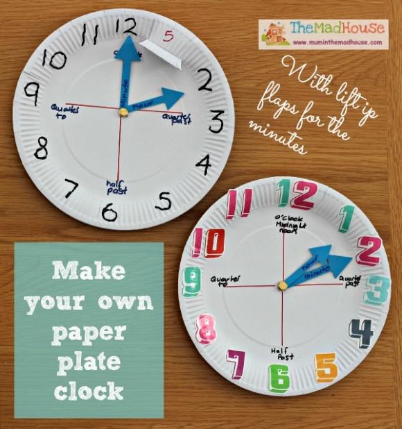paper-plate-clock